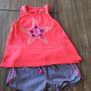 Gymboree girls embroidered boho  shorts set 5